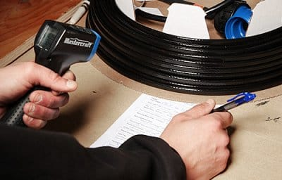 low voltage heating cable